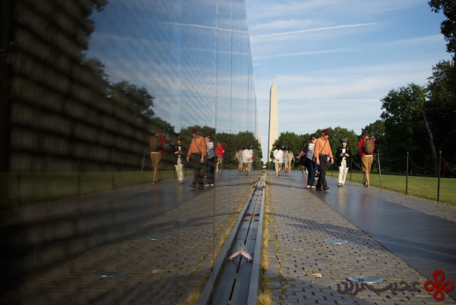 9دیوار یادبود سربازان ویتنام