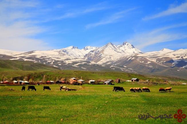 9کوه آراگاتس، ارمنستان