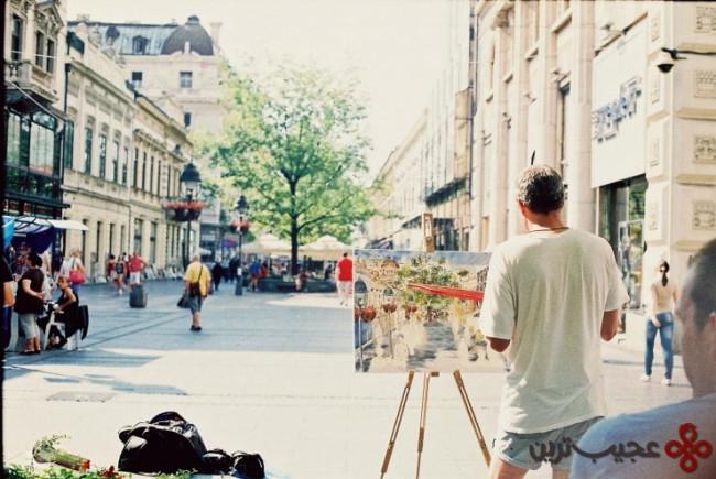 a walk down knez mihailova street