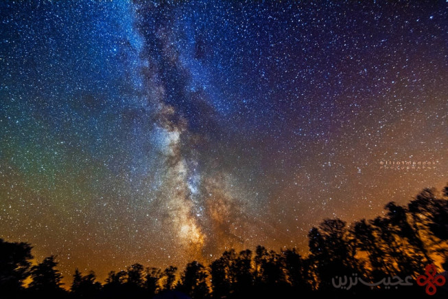 cherry springs state park, pennsylvania, usa