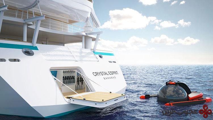 crystal cruises' crystal esprit