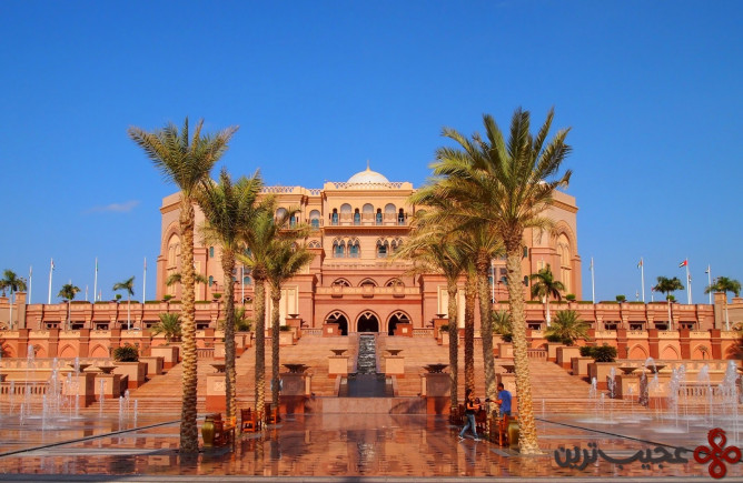 emirates palace، ابوظبی