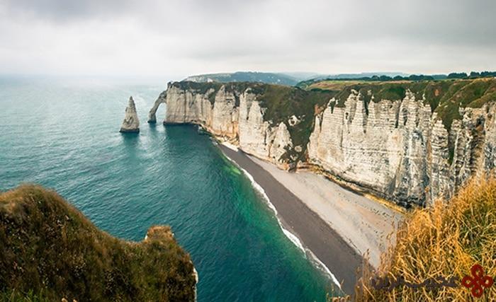 etretat cliffs, france
