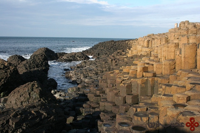 giant's causeway, ireland and scotland