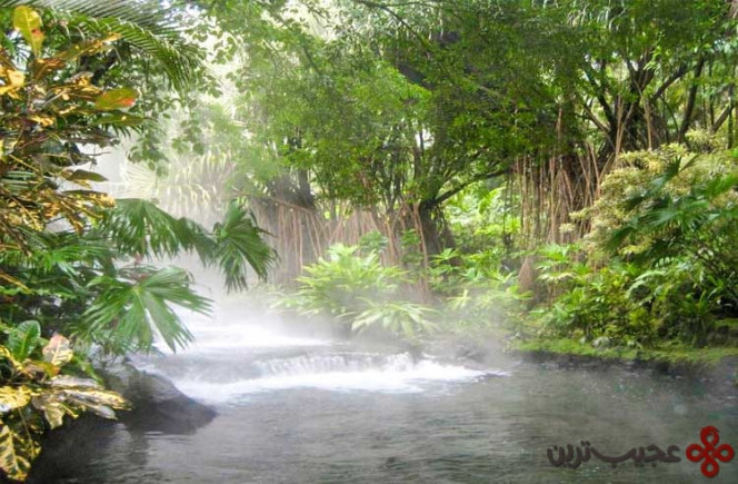 hot springs arenal volcano, costa rica
