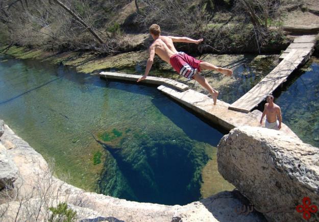 jacob's well texas, usa
