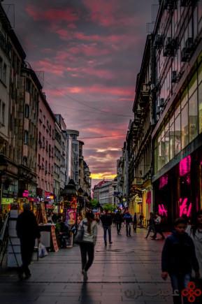 knez mihailova street by ilija djokovic