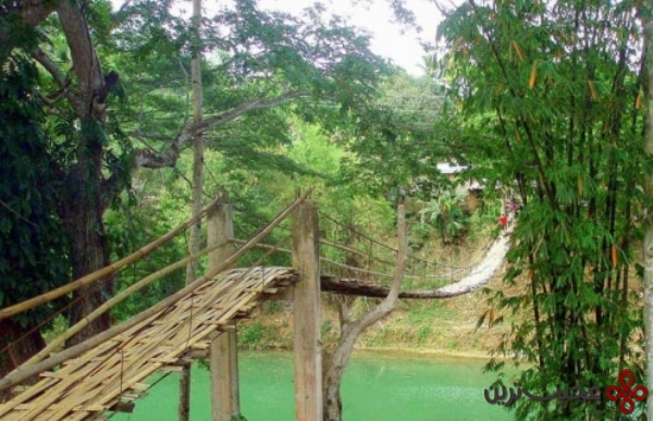 loboc hanging bridge, philippines