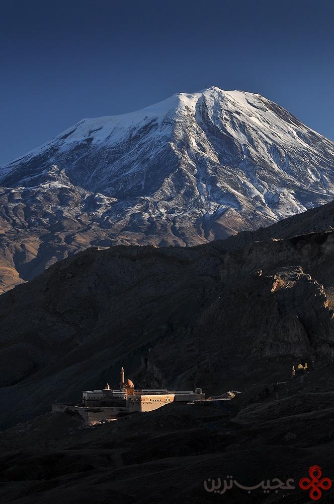 mount ararat and ishak pasha palace