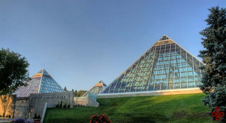 muttart conservatory, edmonton, alberta, canada1