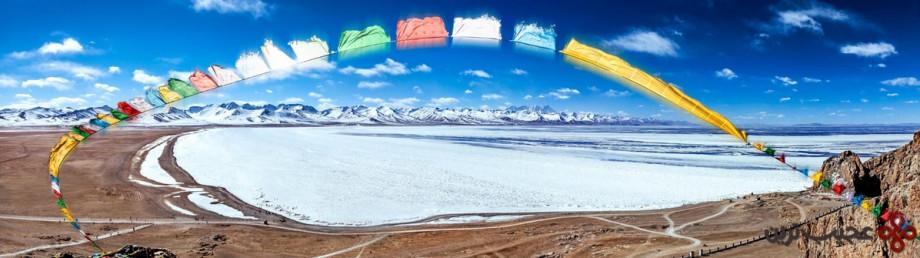 namtso, tibet, china