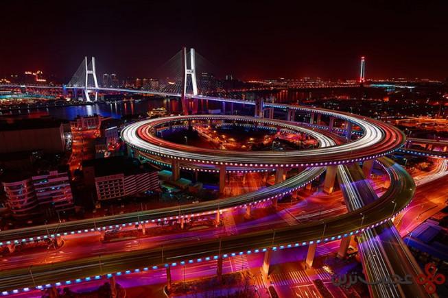 nanpu bridge , shanghai, china