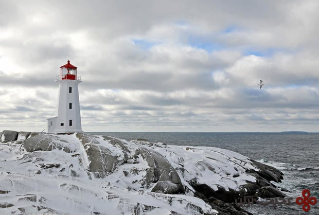 peggys point lighthouse, canada