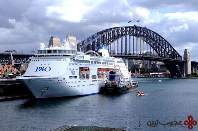 p&o cruises' pacific explorer