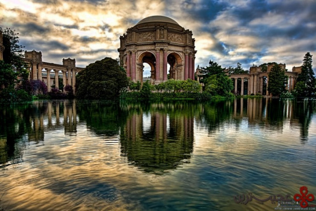 palace of fine arts, san francisco, usa
