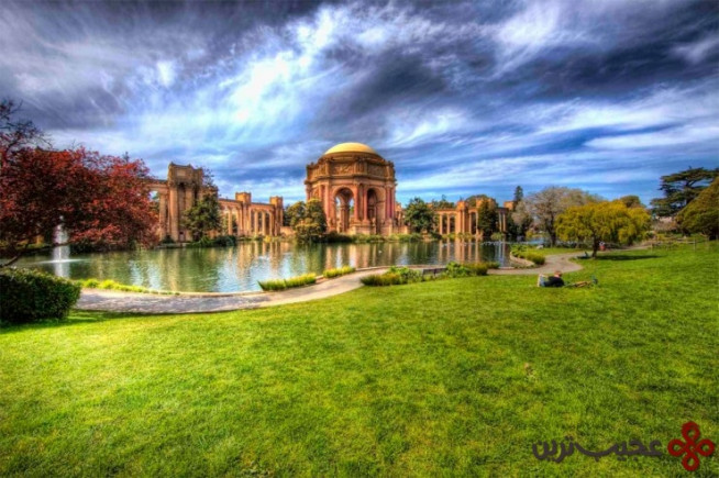 palace of fine arts, san francisco, usa3