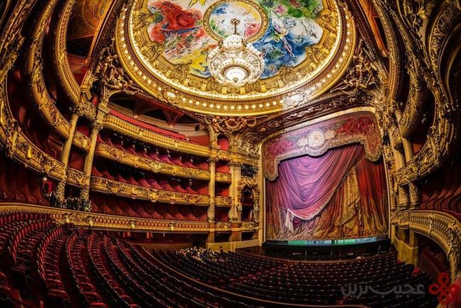 paris opera, paris, france