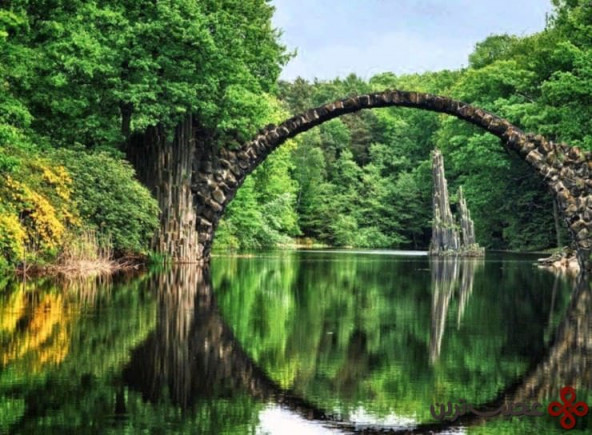 rakotzbrücke, rhododendronpark, kromlau, germany1