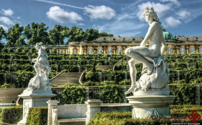 sanssouci, potsdam, germany