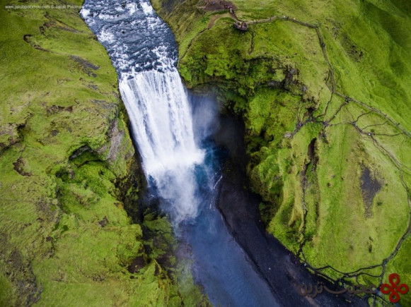 skógafoss photo by jakub polomski 740x554