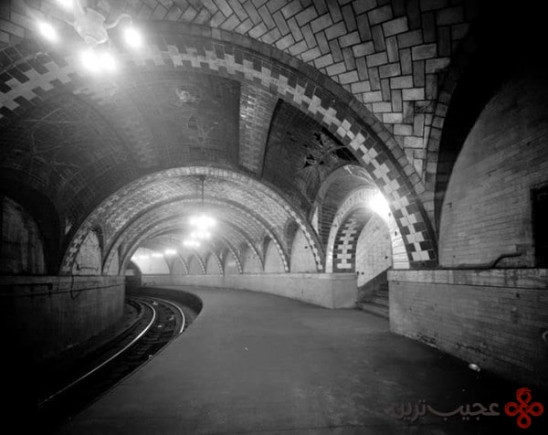 the city hall subway station, new york