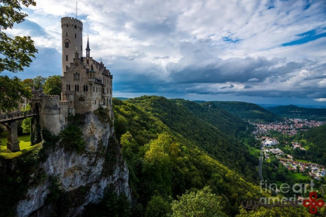 top german castles lichtenstein 740x493
