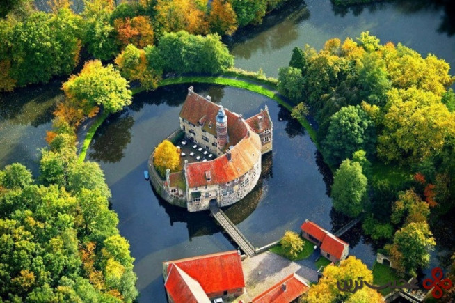 top german castles vischering