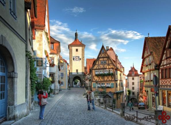 top german villages rothenburg1