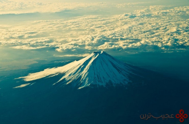 top sacred fuji photo by anish adhikari