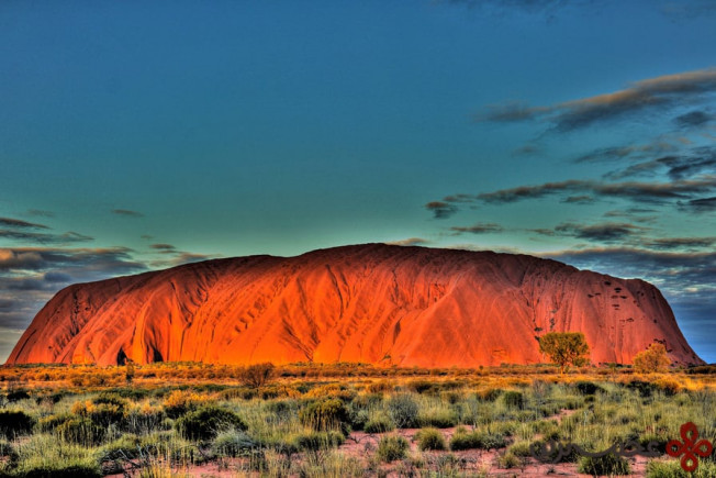 top sacred uluru photo by petr marek