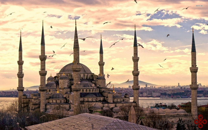 view the blue mosque2