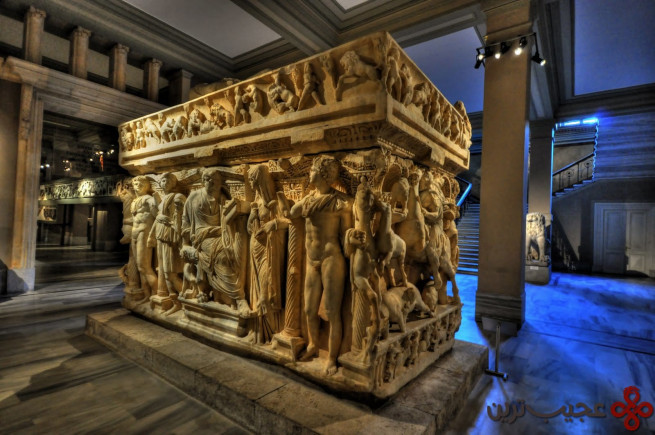 visit the istanbul archaeology museums