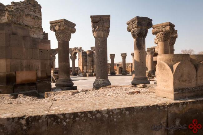 zvartnots ruins1