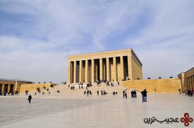 ankara, turkey mausoleum of ataturk