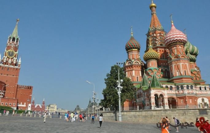 میدان سرخ، مسکو
