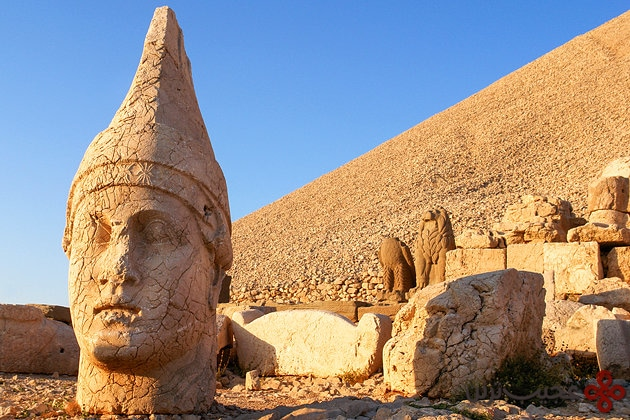 turkey nemrut statue heads mount nemrut