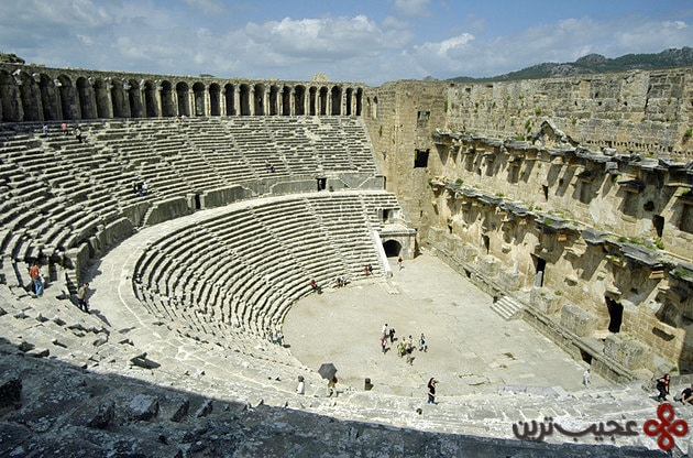 turkey theatre aspendos