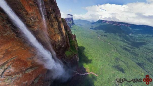 آبشار آنجل (angel falls)، ونزوئلا