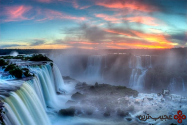 آبشار ایگواسو (iguazu falls)