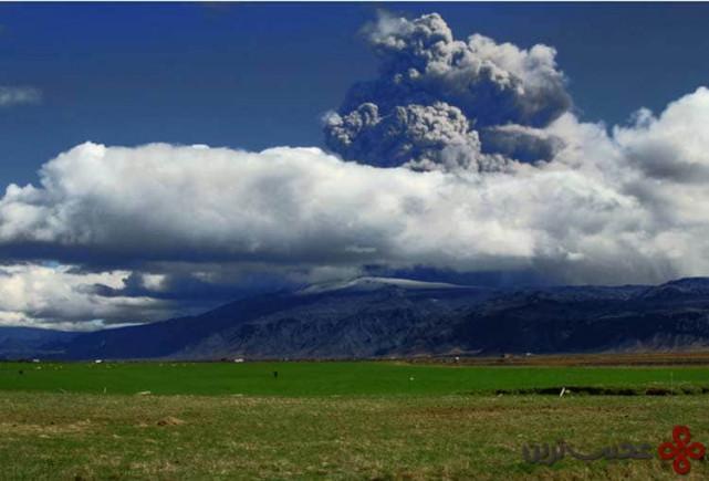 آتشفشان ایافیاتلایوکوتل، ایسلند