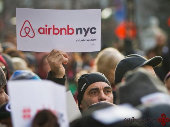 استفاده از سایت airbnb در برخی شهرها ممنوع