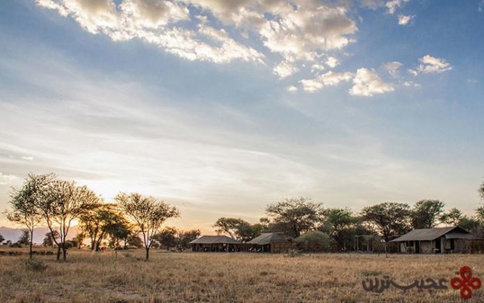 اقامتگاه لیدل چم چم، دریاچه مانیارا، تانزانیا (little chem chem)
