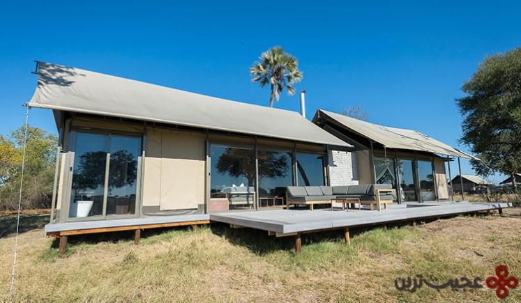 اقامتگاه وایلدرنس سفاریس لینکواشا، پارک ملی هوانگ، ریمبابوه (wilderness safaris linkwasha camp)