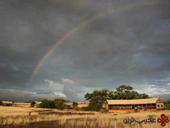 اقامتگاه وایلدرنس سفاری دیزرت راینو، نامیبیا (wilderness safaris desert rhino camp)