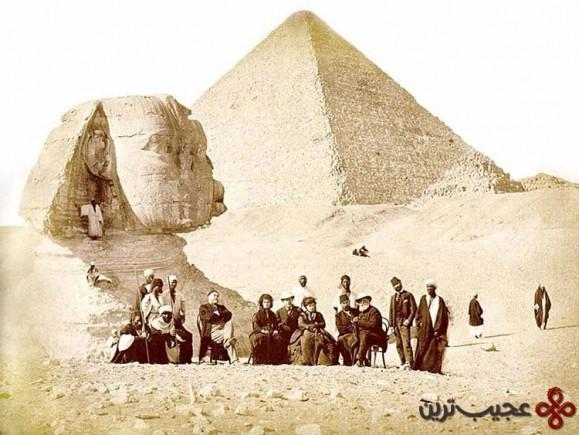 اهرام جیزه و مجسمه ابوالهول 1871