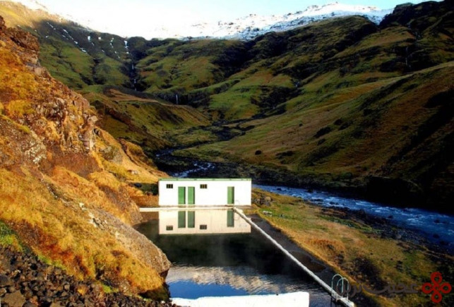 ایسلند سلجاوالالوگ، استخر سلواجیر