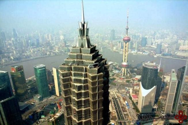 برج جین مائو (jin mao tower)