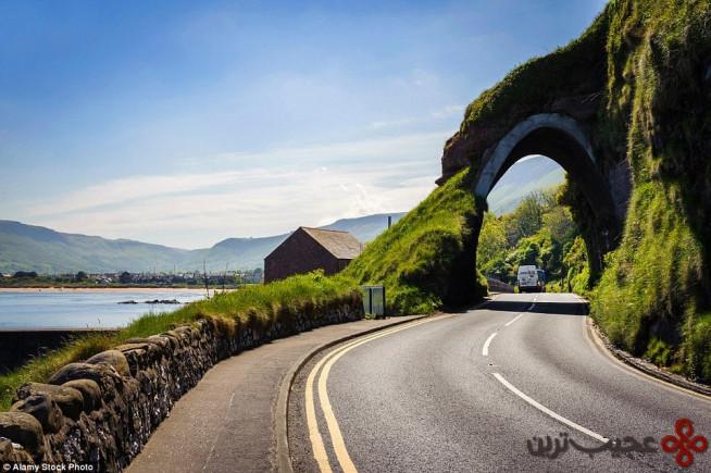 جاده ساحلی آنتریم، ایرلند شمالی (antrim coast road)