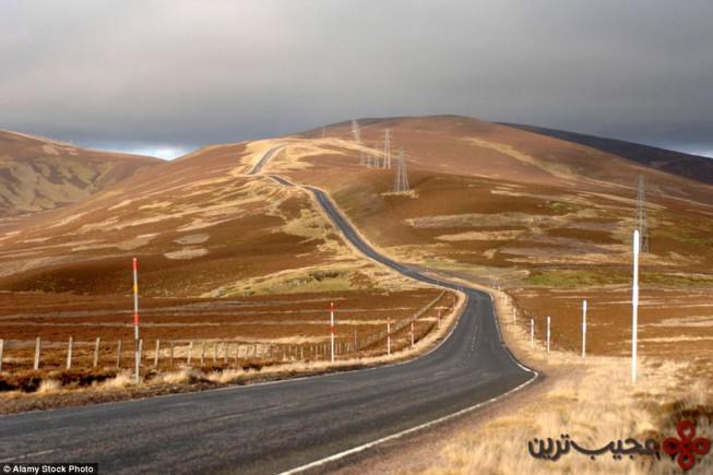 جاده لکت (the lecht road, aberdeenshire)