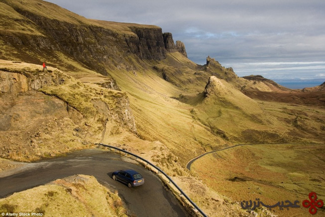 جاده کویرینگ جزیره اسکای (the quiraing pass ,isle of skye)